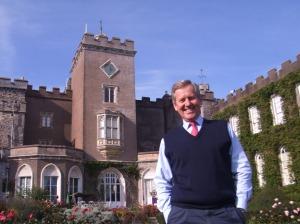 Estate Director of Powderham Castle Simon Fishwick